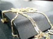 18K YG Gold Figaro Chain FIGARO LINK 18K Yellow Gold 4g